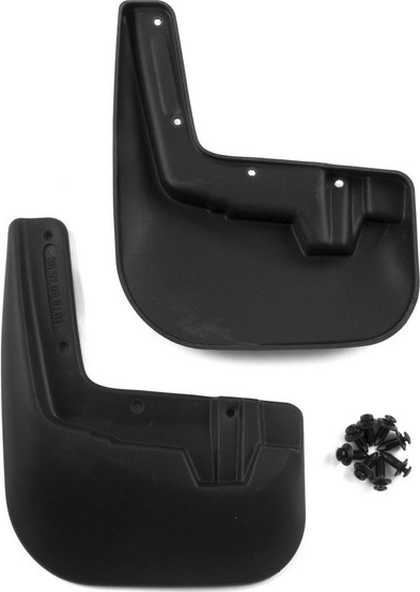 Комплект брызговиков передних Novline-Autofamily для Nissan Sentra B17 седан, 2014-, 2 штDW90Комплект Novline-Autofamily состоит из 2 передних брызговиков, изготовленных из высококачественного полиуретана. Изделия эффективно защищают кузов автомобиля от грязи и воды, формируют аэродинамический поток воздуха, создаваемый при движении вокруг кузова таким образом, чтобы максимально уменьшить образование грязевой измороси, оседающей на автомобиле. Разработаны индивидуально для каждой модели автомобиля. С эстетической точки зрения брызговики являются завершением колесных арок.