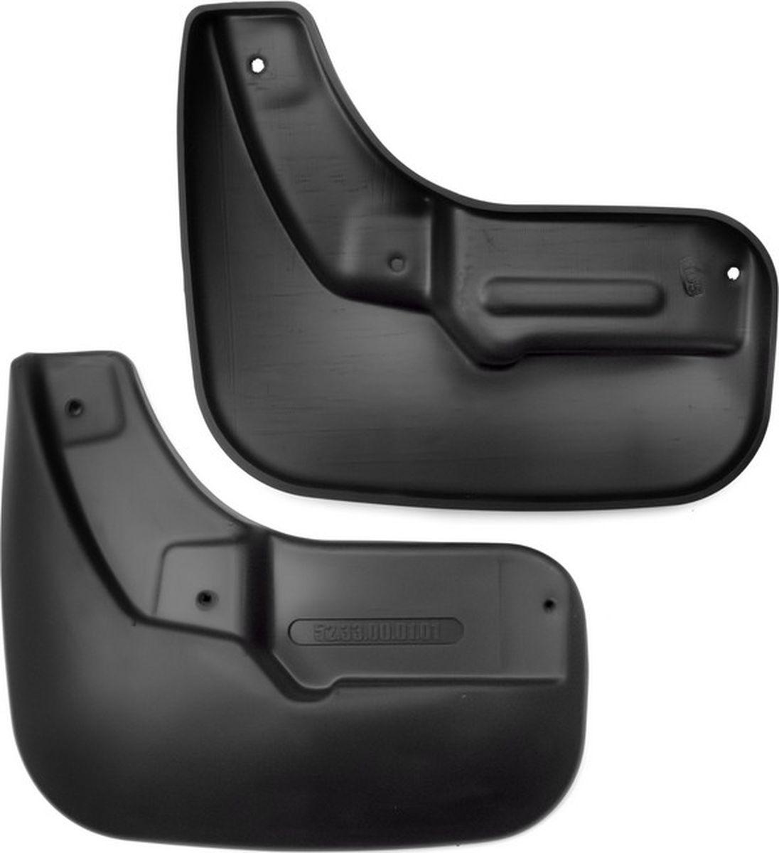 Комплект брызговиков передних Novline-Autofamily для Lada Vesta седан, 2015-, 2 штА00319Комплект Novline-Autofamily состоит из 2 передних брызговиков, изготовленных из высококачественного полиуретана. Изделия эффективно защищают кузов автомобиля от грязи и воды, формируют аэродинамический поток воздуха, создаваемый при движении вокруг кузова таким образом, чтобы максимально уменьшить образование грязевой измороси, оседающей на автомобиле. Разработаны индивидуально для каждой модели автомобиля. С эстетической точки зрения брызговики являются завершением колесных арок.