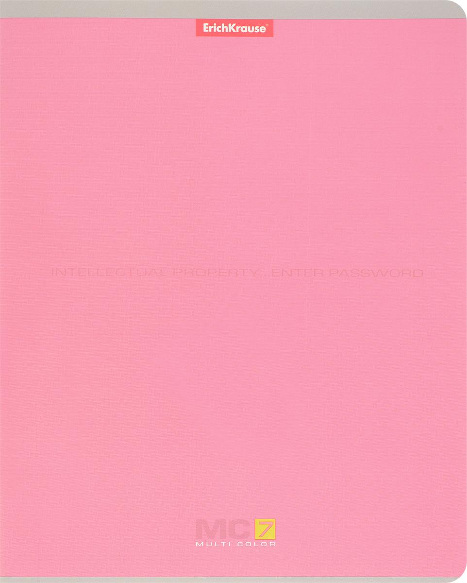Полиграфика Тетрадь MC 7 96 листов в клетку цвет светло-розовый35487 розовыйТетрадь Полиграфика MC-7 подойдет как школьнику, так и студенту. Обложка тетради выполнена из картона и дополнена надписью Intellectual property... Enter password. Внутренний блок состоит из 96 листов белой бумаги. Стандартная линовка в голубую клетку дополнена красными полями. Листы тетради соединены металлическими скобами.
