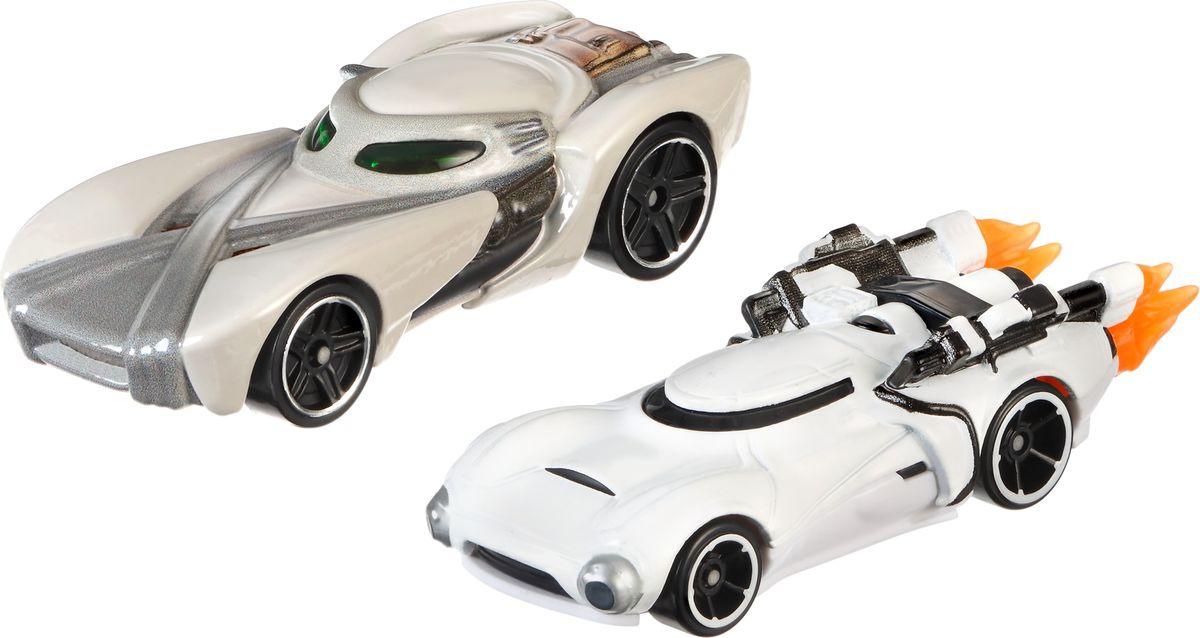 Hot Wheels Star Wars Набор машинок Rey и First Order Flametrooper hot wheels набор машинок star wars hot wheels