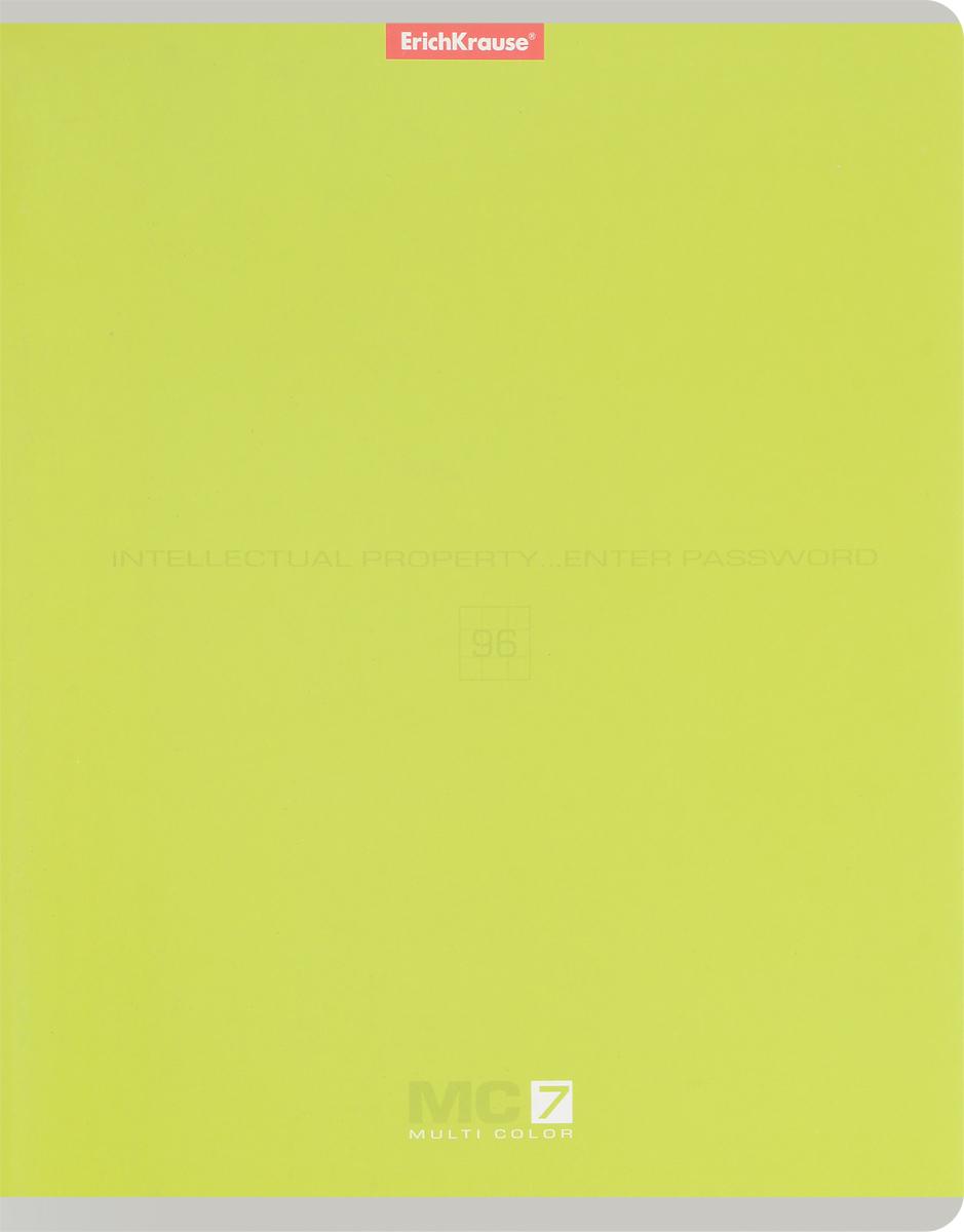 Полиграфика Тетрадь MC-7 96 листов в клетку цвет оливковый37631_черн_бел_розТетрадь Полиграфика MC-7 отлично подойдет для занятий как школьнику, так и студенту. Обложка тетради выполнена из плотного мелованного картона и позволит сохранить тетрадь в аккуратном состоянии на протяжении всего времени использования. Внутренний блок тетради, соединенный скрепками, состоит из 96 листов белой бумаги в голубую клетку с полями.
