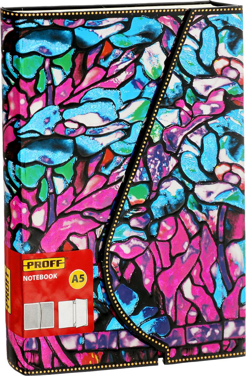 Proff Блокнот Tiffany72523WDЗаписная книжка Proff Tiffany - незаменимый помощник в офисе, дома или в университете. Она сохранит любую информацию, будь то телефоны или адреса друзей, список покупок или важные мысли. Надежный твердый переплет сохранит книжку в аккуратном состоянии на протяжении всего времени ее использования. Блокнот открывается с помощью магнита. Внутренний блок выполнен из офсетной бумаги кремового цвета в серую клетку. Закладка-ляссе позволит быстро найти нужную страницу. На задней обложке расположен внутренний бумажный карман.
