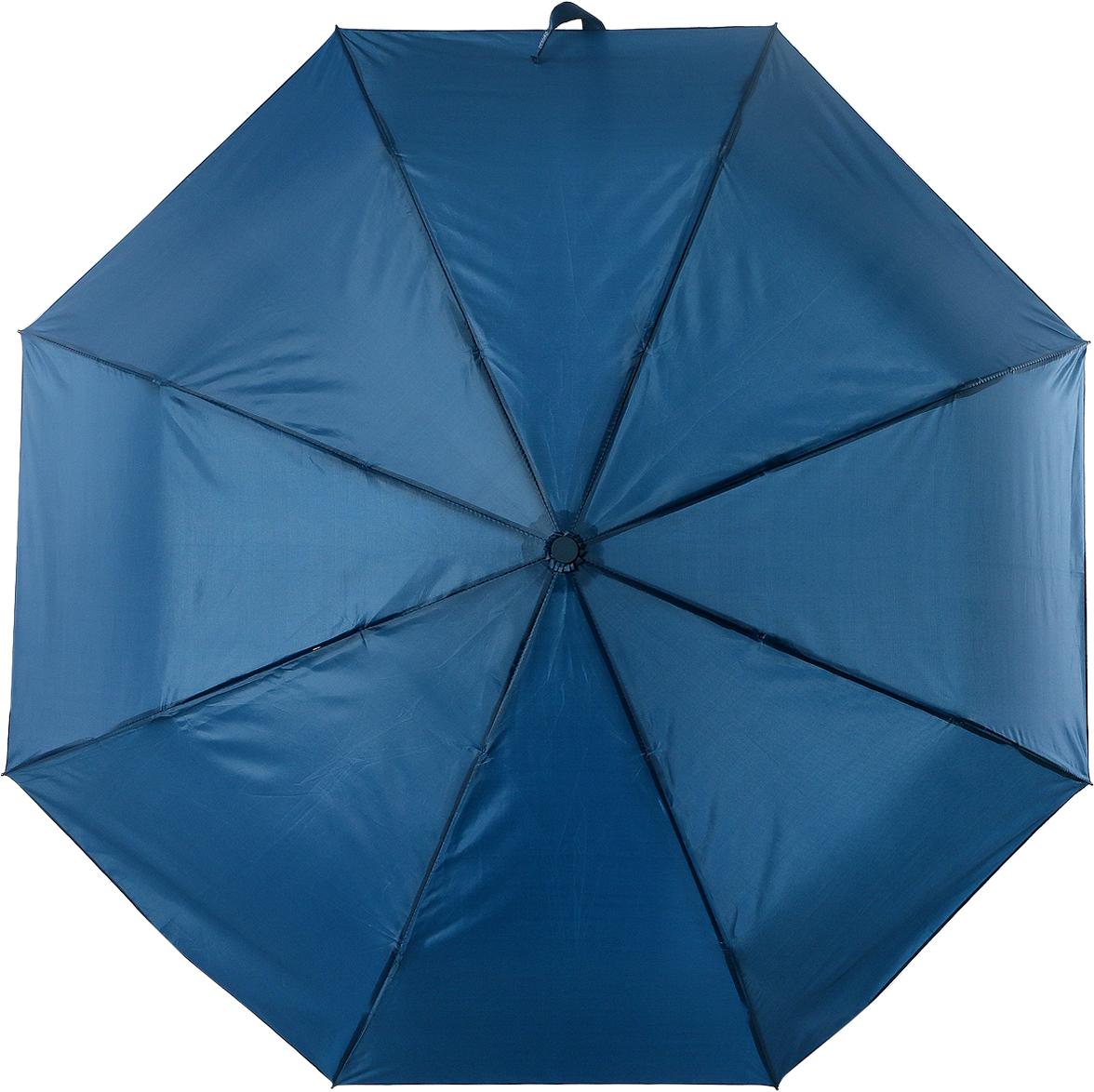Зонт женский Torm, цвет: синий. 3731-02Колье (короткие одноярусные бусы)Классический женский зонт в 3 сложения полный автомат. Удобная ручка выполнена из пластика. Модель зонта выполнена в стандартном размере, оснащена системой Антиветер. Этот стильный аксессуар поместится практически в любую женскую сумочку благодаря своим небольшим размерам.
