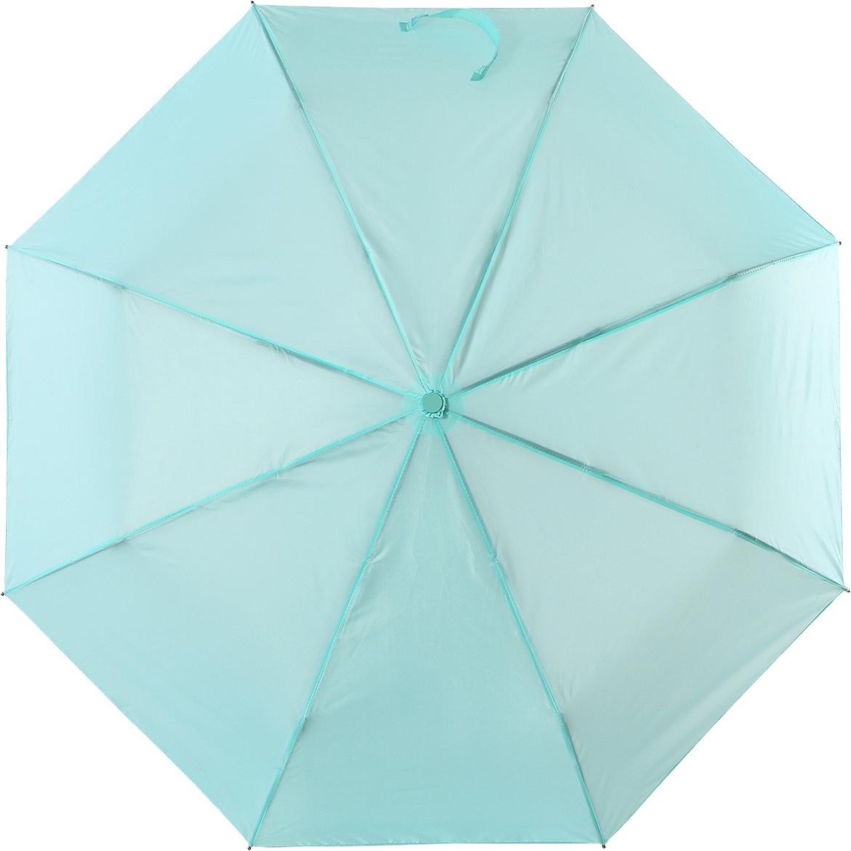 Зонт женский Torm, цвет: зеленый. 3731-05Колье (короткие одноярусные бусы)Классический женский зонт в 3 сложения полный автомат. Удобная ручка выполнена из пластика. Модель зонта выполнена в стандартном размере, оснащена системой Антиветер. Этот стильный аксессуар поместится практически в любую женскую сумочку благодаря своим небольшим размерам.