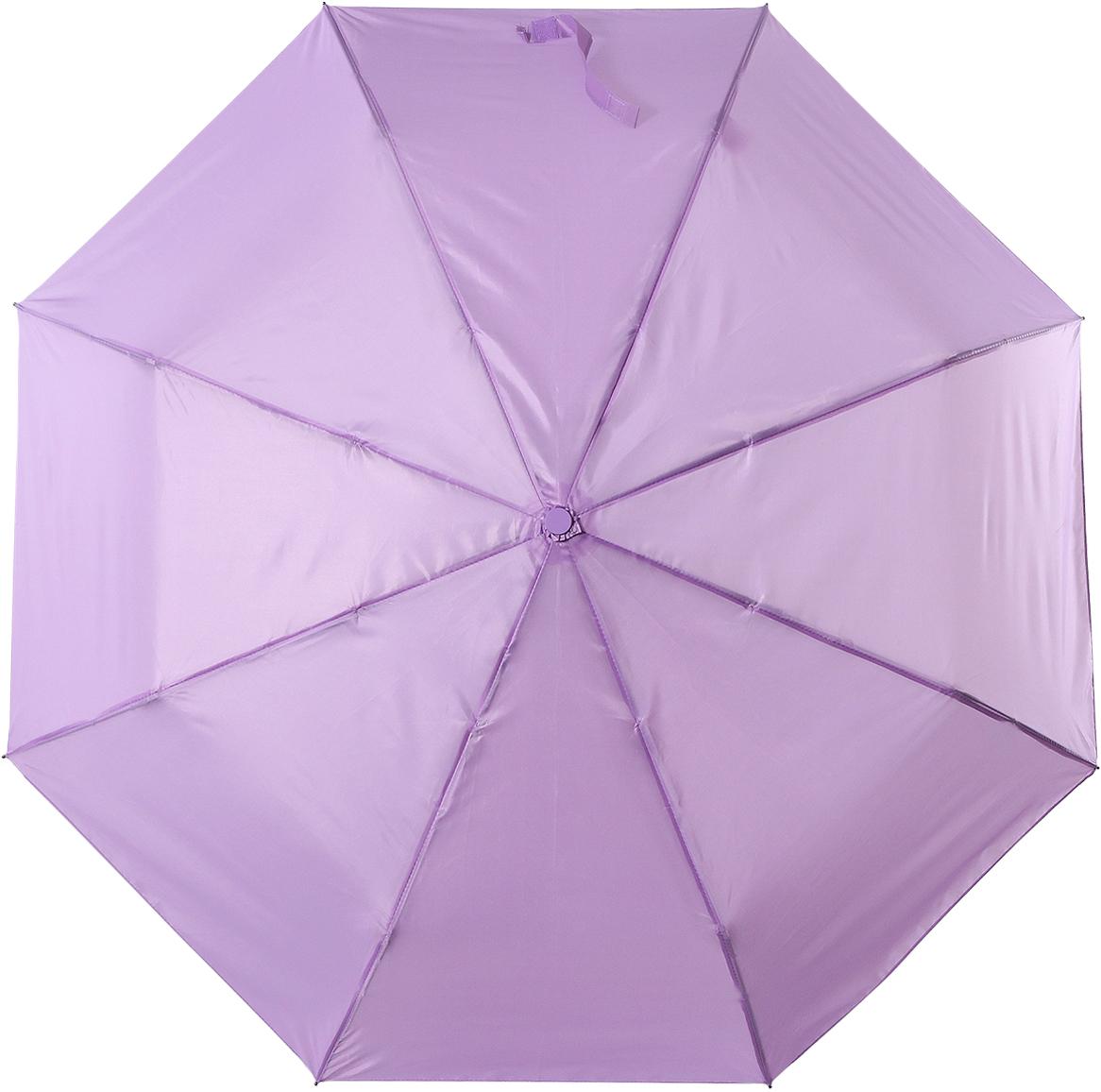 Зонт женский Torm, цвет: светло-фиолетовый. 3731-09Колье (короткие одноярусные бусы)Классический женский зонт в 3 сложения полный автомат. Удобная ручка выполнена из пластика. Модель зонта выполнена в стандартном размере, оснащена системой Антиветер. Этот стильный аксессуар поместится практически в любую женскую сумочку благодаря своим небольшим размерам.