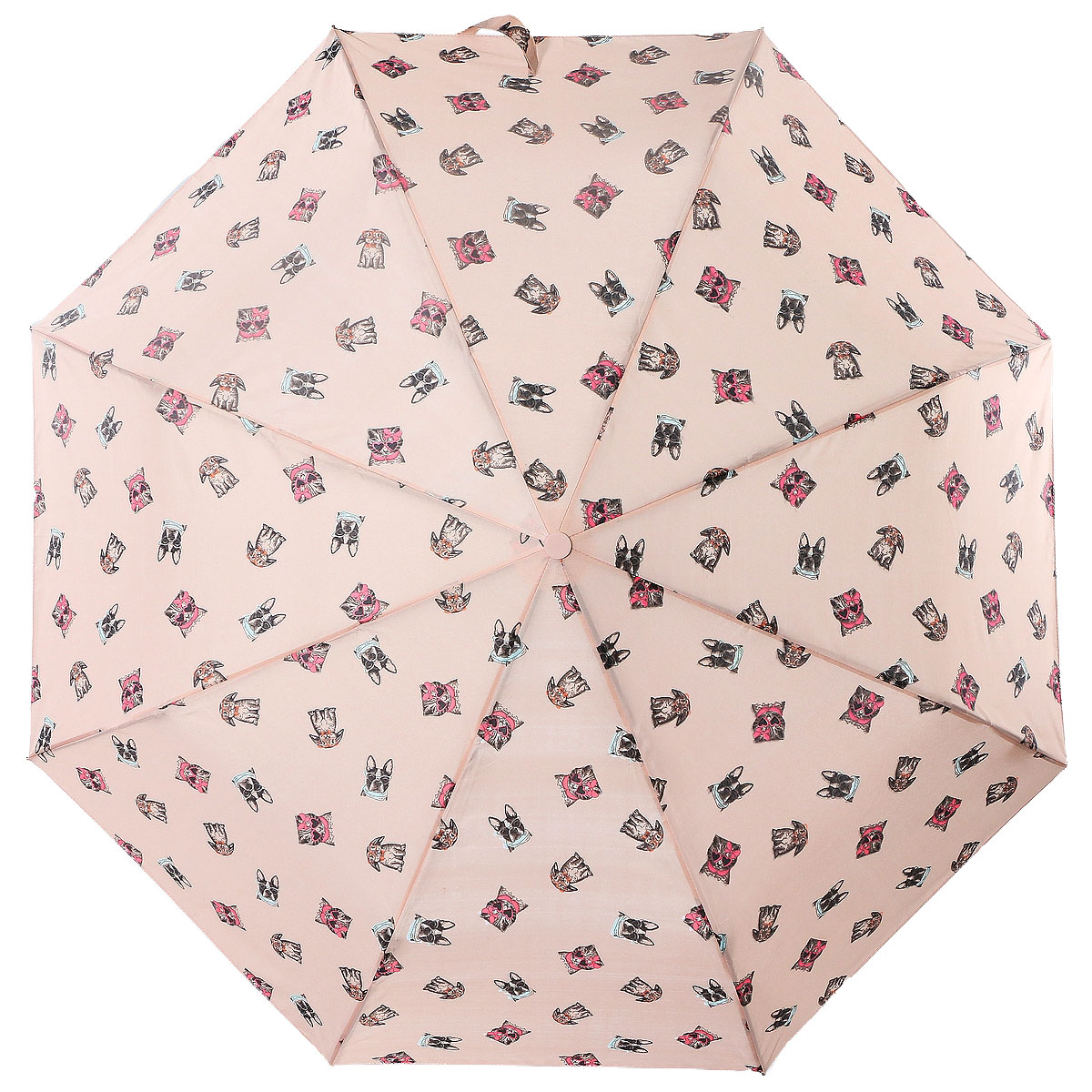 Зонт женский Artrain, цвет: светло-бежевый. 3915-551745100738/18076/4D00NКлассический женский зонт в 3 сложения полный автомат. Удобная ручка выполнена из пластика. Модель зонта выполнена в стандартном размере, оснащена системой Антиветер. Этот стильный аксессуар поместится практически в любую женскую сумочку благодаря своим небольшим размерам.