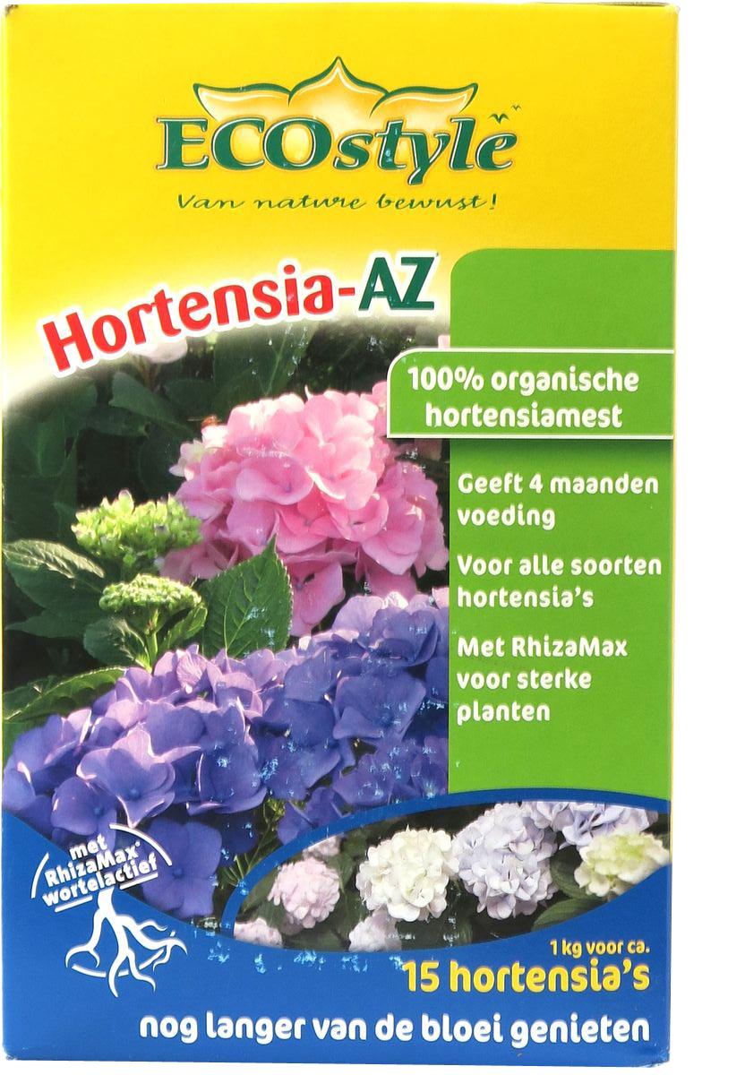 Натуральное органическое удобрение  EcoStyle , для любых сортов Гортензий, 1 кг на 10 м2 - Грунт и удобрения