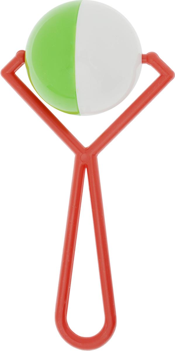 Аэлита Погремушка Вертушка цвет красный зеленый белый