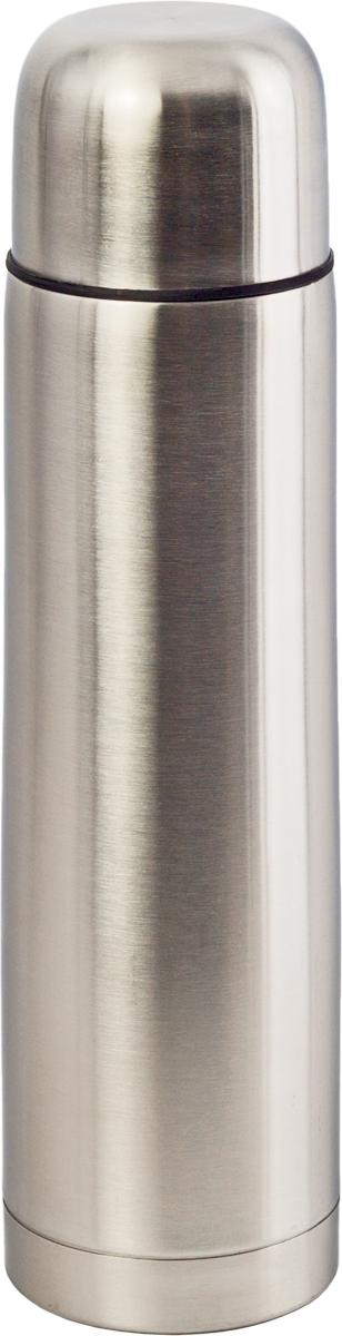 Термос Indiana Vacuum Flask, цвет: стальной, 350 мл320400009Термос Indiana Vacuum Flask прост в использовании и многофункционален. Он изготовлен из высококачественной нержавеющей стали. Термос предназначен для хранения горячих и холодных напитков. Удобная пластиковая пробка с кнопкой позволяет наливать жидкости без отвинчивания.