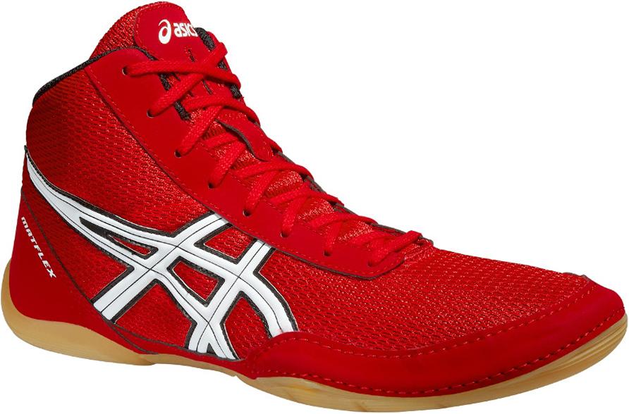 Борцовки мужские Asics  Matflex 5 , цвет: красный. J504N-2301. Размер 9 (41) - Единоборства