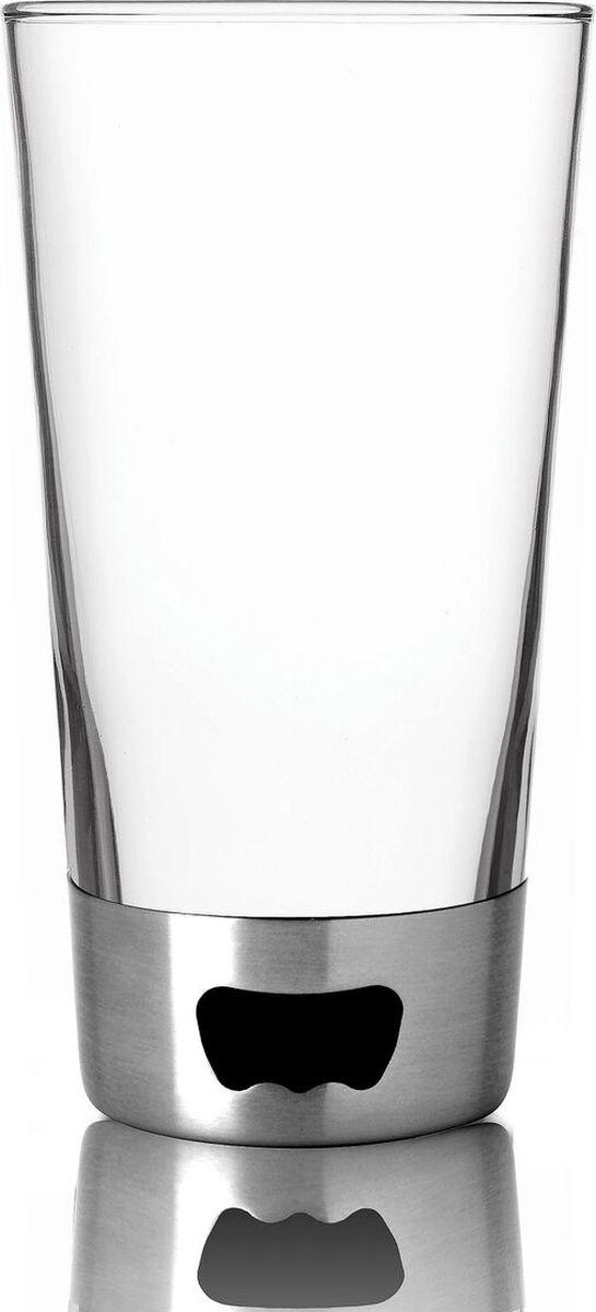 Стакан Asobu Pint glassopener, цвет: стальной, 480 млBO2 silverСтакан Asobu Pint glassopener - самый популярный пивной бокал в мире!Инновационный дизайн: стеклянный стакан со стальным основанием. Бокал содержит целых две открывалки! Открывайте, как Вам удобно. Asobu Pint glassopener будет любимцем в Вашей коллекции.Особенности:480 мл.Основание из нержавеющей стали с двумя видами открывалок.BPA FREE (материал, из которого изготовлено изделие, не содержит Бисфенол А).Можно мыть в посудомоечной машине.Материал: СтеклоВысота: 18,5 смДиаметр: 9,5 смОснование из нержавеющей стали с двумя видами открывалок.BPA FREE (материал, из которого изготовлено изделие, не содержит Бисфенол А).Можно мыть в посудомоечной машине.