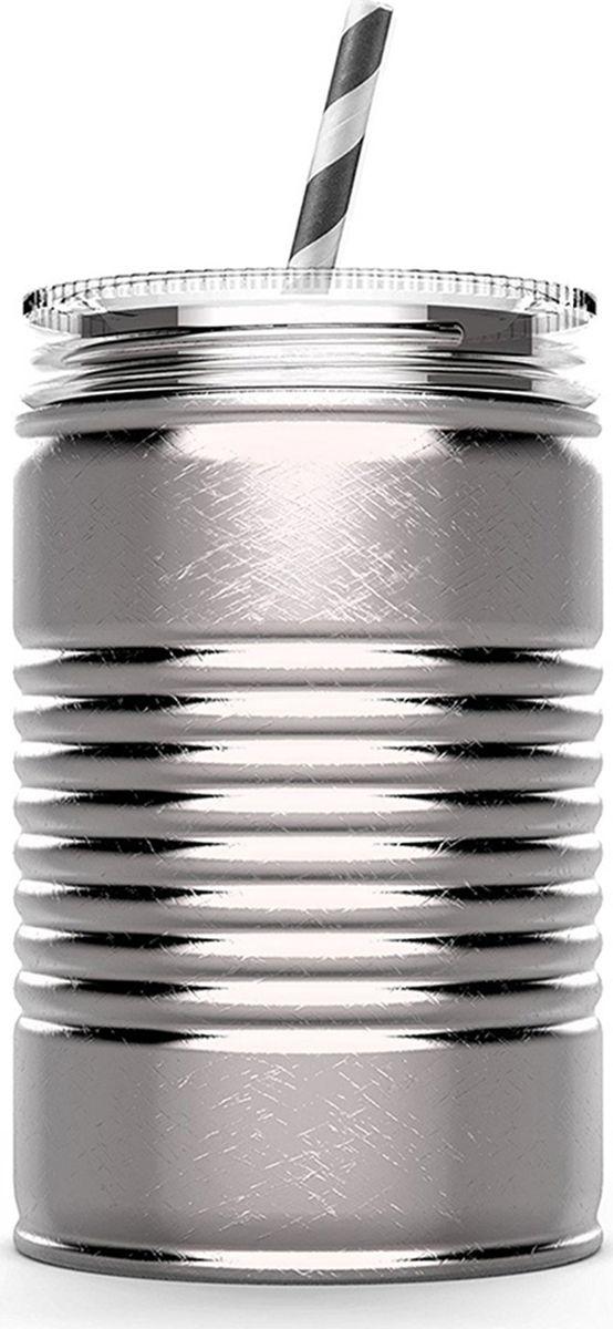 Кружка Asobu I can, цвет: стальной, 540 млIC1 silverКружка Asobu I can - отличный вариант для тех, кто любит разнообразие. Предлагаем отойти от традиционных кофейных кружек и взглянуть совершенно по-новому на свой любимый напиток со стальной кружкой-банкой Asobu I can. Asobu I can выполнена из нержавеющей стали. Двойные стенки сохранят Ваш напиток горячим чуть дольше и, к тому же, не позволят Вам обжечься. Кружка идеально подходит для использования дома, в офисе или на заднем дворе. Asobu I can полностью экологически чистый продукт и подходит для вторичной переработки. Особенности: Многоразовая соломинка в комплекте.Нержавеющая сталь, двойные стенки.Утилизируется, экологически чистый материал.100% BPA FREE.Можно мыть в посудомоечной машине.540 мл.