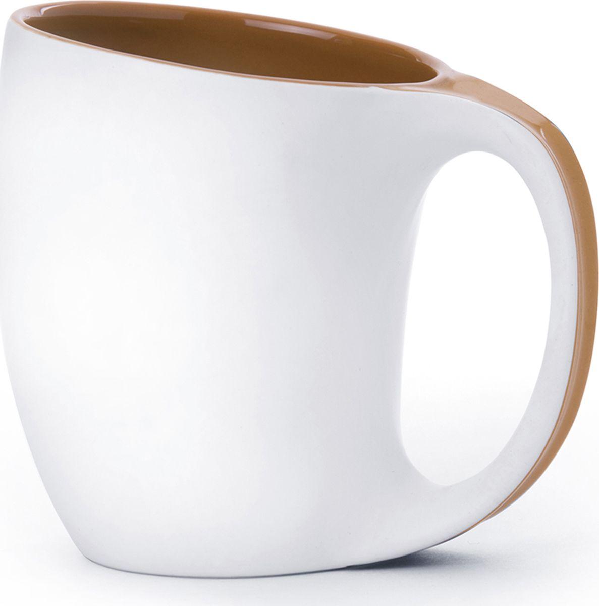 Кружка Asobu The porcelain saphire, цвет: коричневый, 400 млMUG 330 brownКружка Asobu The porcelain saphire – это настоящее произведение искусства! Ведь Asobu не делает скучных и бесполезных вещей! Представляем Вашему вниманию пять эстетически совершенных кружек. Шелковистая белая матовая поверхность и пять вариантов ярких глянцевых цветов внутренних покрытий в сочетании с идеальной формой. Asobu The porcelaine saphire изготовлен из высококачественного фарфора. Можно мыть в посудомоечной машине.