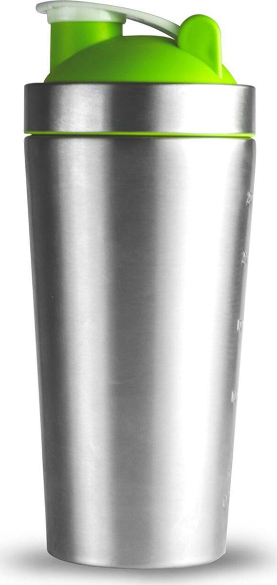 Стакан-шейкер Asobu Shake it baby, цвет: зеленый, 800 млSSB25 greenСтакан-шейкер Asobu Shake it baby встряхнет Ваши обычные тренировки!Дизайн, практичность и простота использования делают этот инновационный стакан идеальным компаньоном тренировок.Мерная маркировка, выгравированная на прочной наружной стенке из нержавеющей стали, обеспечивает точное сочетание продуктов. Удобный носик для питья с защитным колпачком гарантирует, что ваши напитки останутся свежими и не прольются. Прочные лезвия, расположенные в крышке, отлично размешивают смеси, плюс в комплект входят два шарика для лучшего встряхивания коктейля в то время когда вы находитесь на ходу.Высота : 22,5 смДиаметр : 9,5 см
