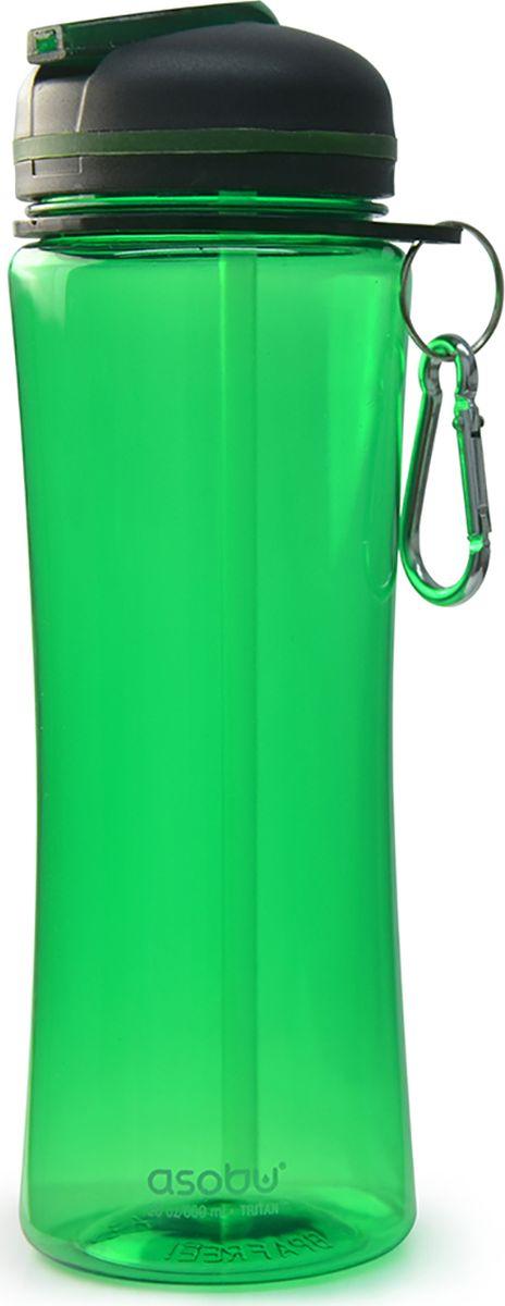 Бутылка Asobu Triumph sport bottle, цвет: зеленый, 720 млTWB9 greenБутылка Asobu Triumph sport bottle обязательна для всех любителей спорта и профессионалов!Эргономичный дизайн позволяет легко захватывать бутылку и удерживать ее одной рукой, инновационная система питья Free Flow (свободный поток) обеспечивает быстрый доступ к воде, необходимый при интенсивных тренировках. Triumph sport bottle изготовлена из прочного и очень легкого материала нового поколения Tritan, который не содержит Бисфенол А. Особенности: Asobu Pinnacle Bottle не содержит Бисфенол А (BPA FREE).Объем 720 мл.Материал Tritan практически не поддается разрушению и делает бутылку идеальной для кемпинга, пеших прогулок или любого активного отдыха.Инновационный носик с системой свободного потока (Free Flow) для легкого доступа к воде.Плотная крышка с кольцом для переноски.