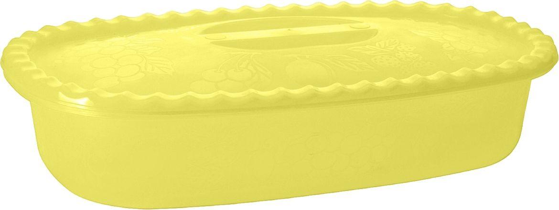 Судок Plastic Centre Фазенда, с крышкой, цвет: желтый, 2,7 лПЦ2323ЖТПРМногофункциональный судок Plastic Centre подходит для хранения, приготовления и переноски продуктов или холодных блюд. Корпус и крышка украшены свежим летним декором. Изделие выполнено из полипропилена. Классический дизайн украсит стол и порадует хозяйку.Объем: 2,7 л.