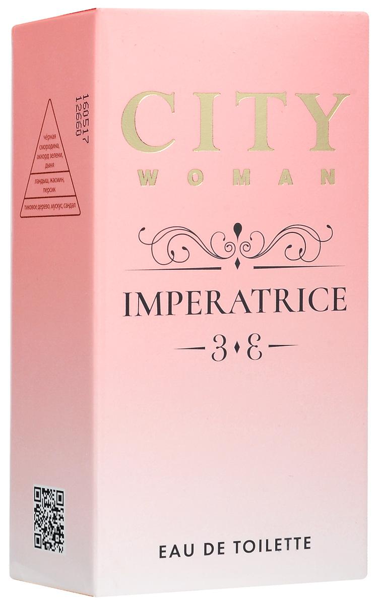 City Woman Imperatrice туалетная вода, 60 мл city woman amor туалетная вода 60 мл