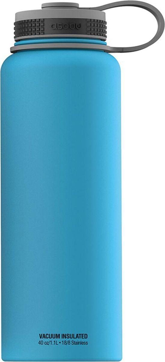 Термобутылка Asobu The Mighty Flask, цвет: голубой, 1,1 лTMF1 blueThe Mighty Flask от Asobu - легкая и безопасная термобутылка в элегантном дизайне. Возьмите с собой на прогулку или даже на вечеринку удобную фляжку со своим любимым напитком. Особенности:Для многоразового использования и BPA FREE (материал, из которого изготовлено изделие, не содержит Бисфенол А). Пожизненная гарантияМатовая защитная отделка. Напиток остается горячим до 12 часов. Напиток остается холодным до 24 часов. Удобное для питья широкое горло. Идеален для кофе, чая, спортивных напитков, пива. Двойные стенки с вакуумной изоляцией. Подлежит вторичной переработке. Объем 1,1 л.Высота: 27 смДиаметр:9 см
