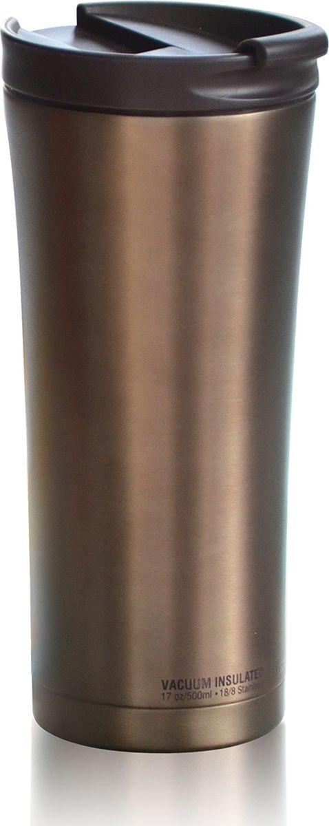 Термокружка Asobu Manhattan Coffee Tumbler, цвет: коричневый, 500 мл67743Asobu – бренд посуды для питья, выделяющийся творческим, оригинальным дизайном и инновационными решениями.Asobu разработан Ad-N-Art в Канаде и в переводе с японского означает весело и с удовольствием. И действительно, только взгляните на каталог представленных коллекций и вы поймете, что Asobu - посуда, которая вдохновляет!Кроме яркого и позитивного дизайна, Asobu отличается и качеством материалов из которых изготовлена продукция – это всегда чрезвычайно ударопрочный пластик и 100% BPA Free.За последние 5 лет, благодаря своему дизайну и функциональности, Asobu завоевали популярность не только в Канаде и США, но и во всем мире!Asobu manhattan coffee tumbler - практичный стиль и современные цвета. Этот высокий термостакан имеет все необходимые функции для напряженного рабочего дня в офисе или активного отдыха. Элегантный и эргономичный дизайн делает его удобным для захвата и питья. Защелка на крышке обеспечивает легкий доступ к вашим любимым горячим напитком. Вакуумная изоляция с двойными стенками из нержавеющей стали держит напиток горячим в течение 6 часов.Особенности:Быстрый легкий доступ.Вакуумная изоляция. Двойные стенки.Нержавеющая сталь.Сохраняет напиток горячим до 6 часов.Сохраняет напиток холодным до 24 часов.Подходит для стандартных подстаканников.