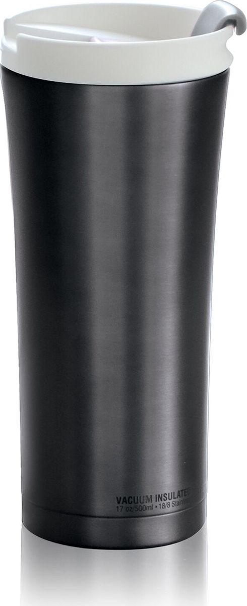 Термокружка Asobu Manhattan Coffee Tumbler, цвет: серый, 500 млKOC-H19-LEDAsobu – бренд посуды для питья, выделяющийся творческим, оригинальным дизайном и инновационными решениями.Asobu разработан Ad-N-Art в Канаде и в переводе с японского означает весело и с удовольствием. И действительно, только взгляните на каталог представленных коллекций и вы поймете, что Asobu - посуда, которая вдохновляет!Кроме яркого и позитивного дизайна, Asobu отличается и качеством материалов из которых изготовлена продукция – это всегда чрезвычайно ударопрочный пластик и 100% BPA Free.За последние 5 лет, благодаря своему дизайну и функциональности, Asobu завоевали популярность не только в Канаде и США, но и во всем мире!Asobu manhattan coffee tumbler - практичный стиль и современные цвета. Этот высокий термостакан имеет все необходимые функции для напряженного рабочего дня в офисе или активного отдыха. Элегантный и эргономичный дизайн делает его удобным для захвата и питья. Защелка на крышке обеспечивает легкий доступ к вашим любимым горячим напитком. Вакуумная изоляция с двойными стенками из нержавеющей стали держит напиток горячим в течение 6 часов.Особенности:Быстрый легкий доступ.Вакуумная изоляция. Двойные стенки.Нержавеющая сталь.Сохраняет напиток горячим до 6 часов.Сохраняет напиток холодным до 24 часов.Подходит для стандартных подстаканников.