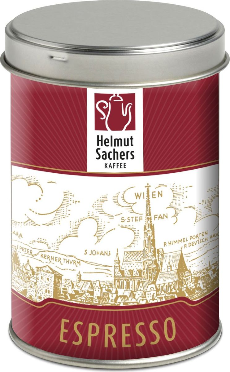 Helmut Sachers кофе эспрессо в зернах, 125 г