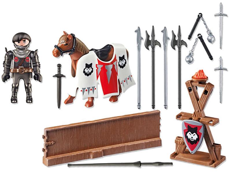 Playmobil Игровой набор Рыцарь Райпан Стражник Черного Барона