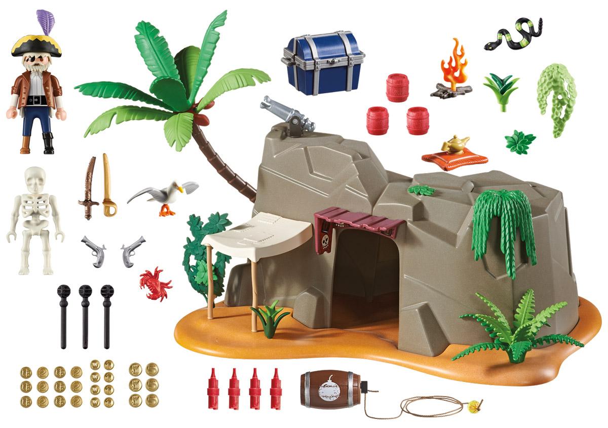 Playmobil Игровой набор Пещера пирата schleich игровой набор пещера со львом