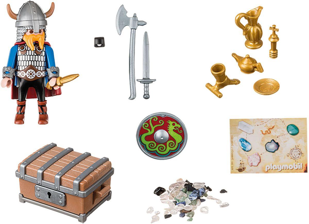 Playmobil Игровой набор Викинг с сокровищами