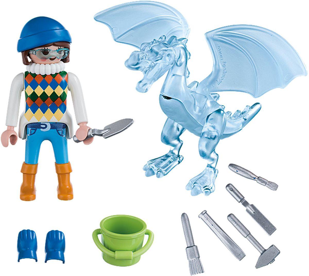 Playmobil Игровой набор Скульптор по льду