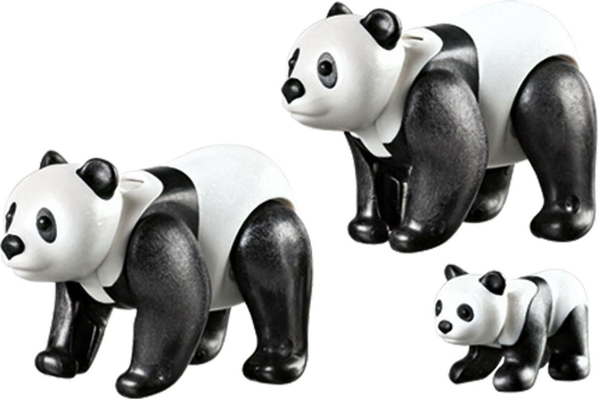 Playmobil Игровой набор Зоопарк Семья панд