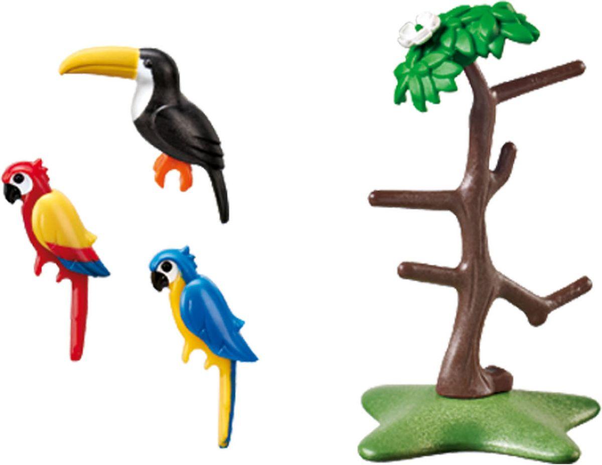 Playmobil Игровой набор Зоопарк Тропические птицы