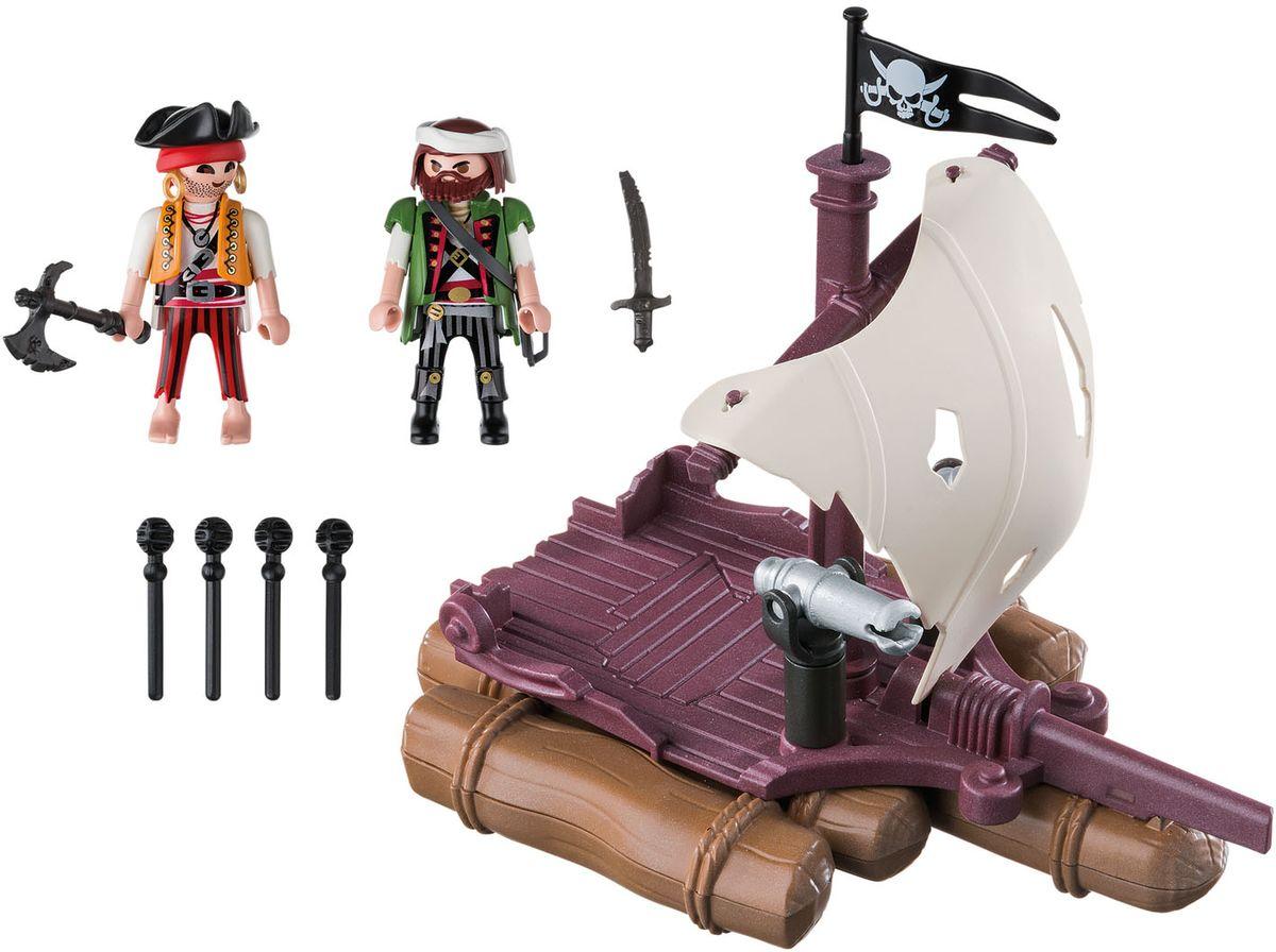 Playmobil Игровой набор Пираты Пиратский плот