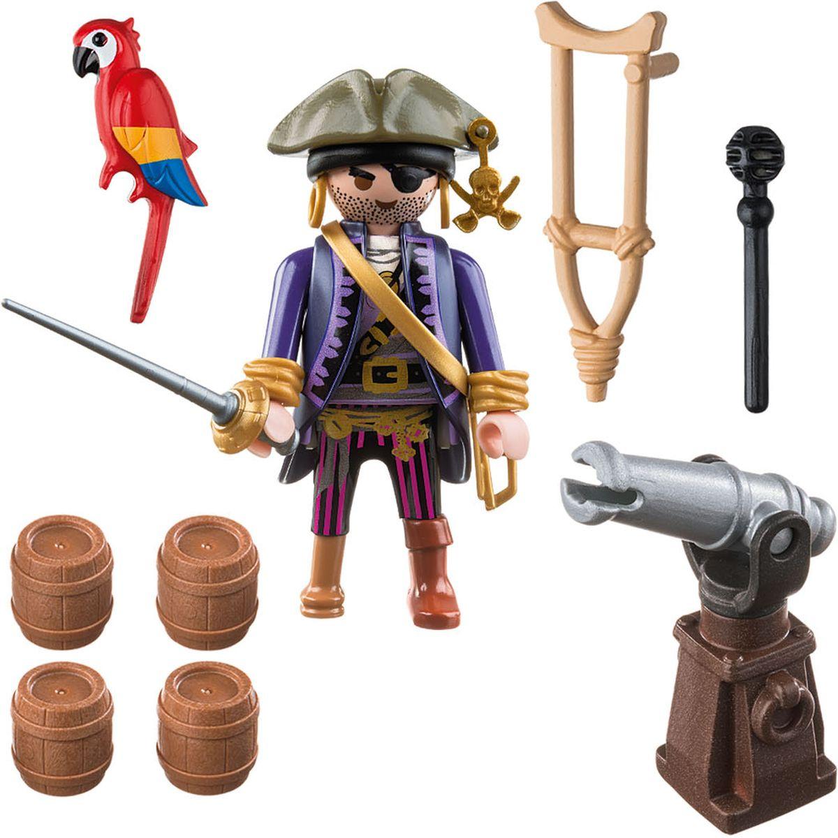 Playmobil Игровой набор Пираты Капитан пиратов