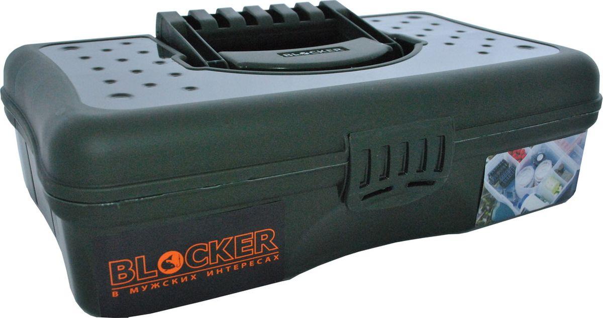 Коробка для приманок Blocker, 28,5 x 16,5 x 8 смBR3752Бокс Blocker для переноски и хранения рыболовных и охотничьих принадлежностей, а также для личных вещей, необходимых на отдыхе и в путешествии. Вместительный, удобный, компактный бокс с эргономичной ручкой, надежным замком и разделителями внутри. Незаменим на рыбалке или в туристическом походе. Изделие имеет 6 внутренних ячеек.