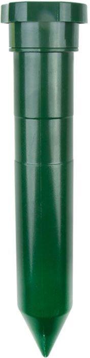 Садовый отпугиватель кротов Rexant, малый710262Безопасно для людей и домашних животныхпрост в эксплуатацииэкономичная модельработа от 2 батареек типа LR20 (D)пластик ABSчастота 400 Гцрадиур работы до 20 м