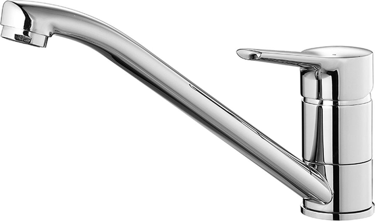 Смеситель для кухни Milardo Enisey, цвет: хромBL505Смеситель для кухни Milardo® изготовлен из высококачественной первичной латуни, прочной, безопасной и стойкой к коррозии. Инновационные технологии литья и обработки латуни, а также увеличенная толщина стенок смесителя обеспечивают его стойкость к перепадам давления и температур. Увеличенное никель-хромовое покрытие полностью соответствует европейским стандартам качества, обеспечивает его стойкость и зеркальный блеск в течение всего срока службы изделия. Благодаря гладкой внутренней поверхности смесителя, рассекателям в водозапорных механизмах и аэратору он имеет минимальный уровень шума.Гарантия на смесители Milardo® – 7 лет.