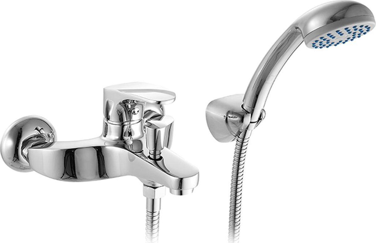 Смеситель для ванны Milardo Solomon, цвет: хромBL505Смеситель для ванны Milardo® изготовлен из высококачественной первичной латуни, прочной, безопасной и стойкой к коррозии. Инновационные технологии литья и обработки латуни, а также увеличенная толщина стенок смесителя обеспечивают его стойкость к перепадам давления и температур. Увеличенное никель-хромовое покрытие полностью соответствует европейским стандартам качества, обеспечивает его стойкость и зеркальный блеск в течение всего срока службы изделия. Благодаря гладкой внутренней поверхности смесителя, рассекателям в водозапорных механизмах и аэратору он имеет минимальный уровень шума.Ручная фиксация дивертора позволяет комфортно принимать душ даже при низком давлении воды. В комплект входят лейка и шланг из нержавеющей стали длиной 1,5 м с защитой от перекручивания.Гарантия на смесители Milardo® – 7 лет. Гарантия на лейку и шланг составляет 1 года.