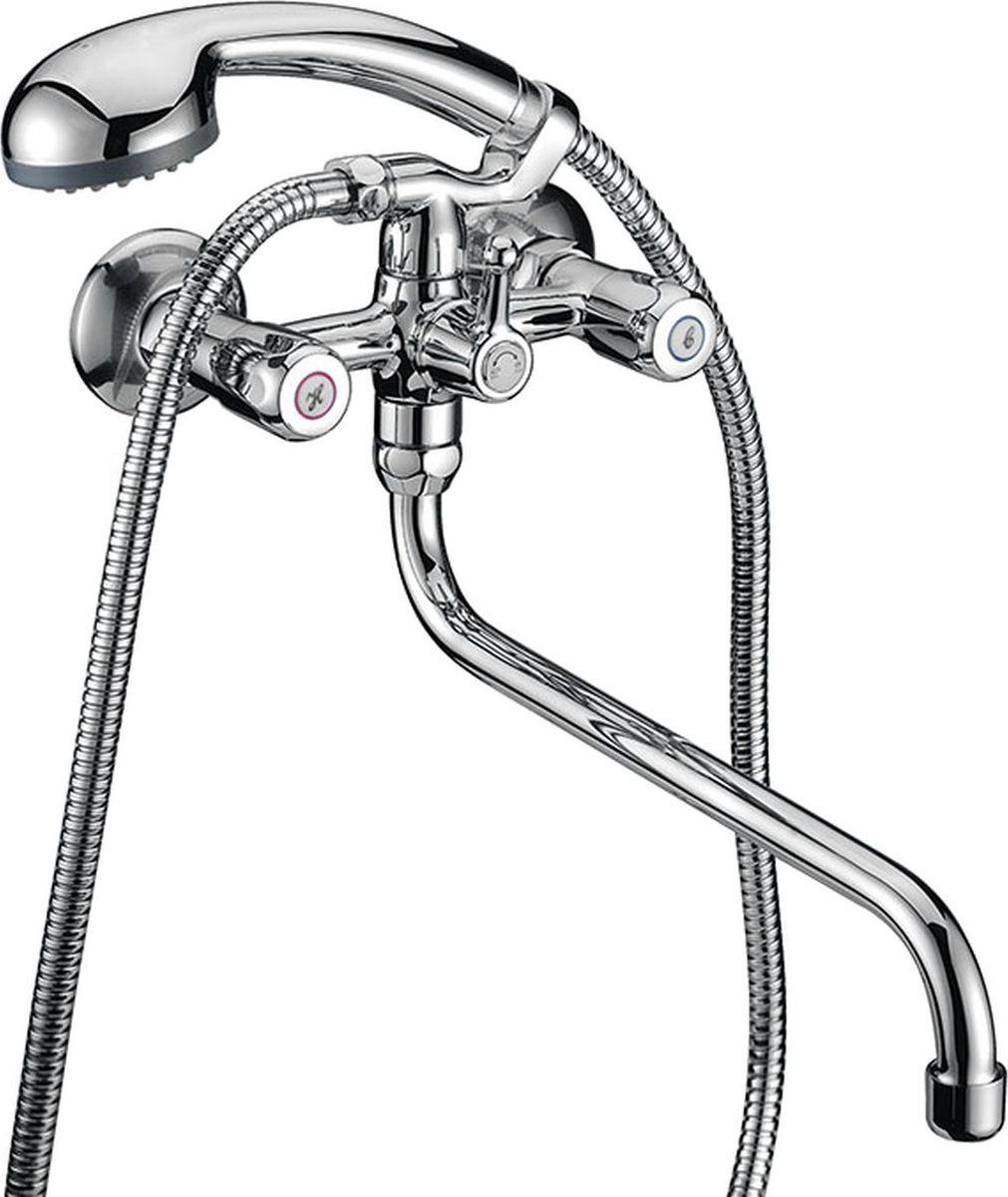 Смеситель для ванны Milardo Tasman, с длинным изливом, цвет: хромRICCI RRH-2150-SСмеситель для ванны Milardo® изготовлен из высококачественной первичной латуни, прочной, безопасной и стойкой к коррозии. Инновационные технологии литья и обработки латуни, а также увеличенная толщина стенок смесителя обеспечивают его стойкость к перепадам давления и температур. Увеличенное никель-хромовое покрытие полностью соответствует европейским стандартам качества, обеспечивает его стойкость и зеркальный блеск в течение всего срока службы изделия. Благодаря гладкой внутренней поверхности смесителя, рассекателям в водозапорных механизмах и аэратору он имеет минимальный уровень шума.Смеситель оборудован керамическим дивертором, чей сверхнадежный механизм обеспечивает плавное и мягкое переключение с излива на душ, а также непревзойденную надежность при любом давлении воды.Керамические кран-буксы с углом поворота 180 градусов позволяют настраивать температуру и напор воды с высокой степенью точности. Ручки смесителя не нагреваются благодаря специальной форме встроенных термоизоляторов.(аэратор)В комплект входят лейка и шланг из нержавеющей стали длиной 1,5 м с защитой от перекручивания. Гарантия на смесители Milardo® – 7 лет. Гарантия на лейку и шланг составляет 1 год.