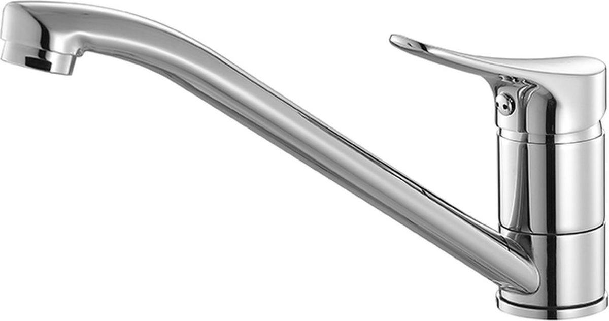 Смеситель для кухни Milardo VolgaVOLSB00M05Смеситель для кухни Milardo Volga изготовлен из высококачественной первичной латуни, прочной, безопасной и стойкой к коррозии. Инновационные технологии литья и обработки латуни, а также увеличенная толщина стенок смесителя обеспечивают его стойкость к перепадам давления и температур. Никель-хромовое покрытие полностью соответствует европейским стандартам качества, обеспечивает его стойкость и зеркальный блеск в течение всего срока службы изделия. Благодаря гладкой внутренней поверхности смесителя, рассекателям в водозапорных механизмах и аэратору он имеет минимальный уровень шума.Гарантия на смеситель Milardo Volga – 7 лет.