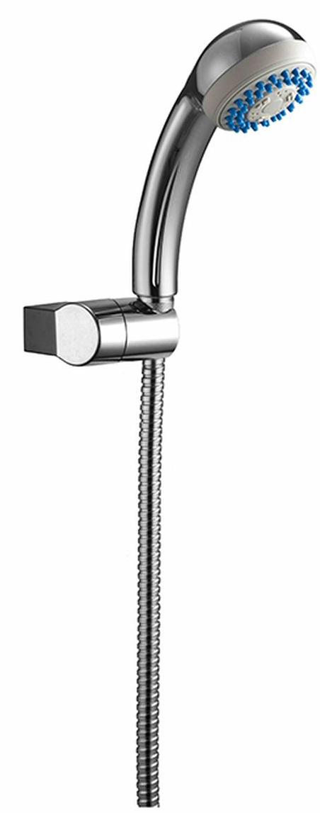 Лейка душевая Milardo, с держателем. 1203F76M161203F76M16Держатель для лейки Milardo и лейка изготовлены из ABS-пластика, высокопрочного и легкого материала, с надежным никель-хромовым покрытием, которое гарантирует идеальный зеркальный блеск и защиту изделия на долгий срок. Держатель предусматривает возможность регулировки наклона лейки, что позволяет размещать ее под комфортным углом. Переключение режимов лейки осуществляется за счет передвижения влево-вправо рычага, расположенного на лицевой части лейки. Лейка имеет 3 режима: дождь, массаж, дождь+массаж.В комплект входят крепления.Диаметр лейки: 7,6 см.Длина шланга: 1,5 м.Максимальный расход воды (при 3 бар): 23,2 литра в минуту.