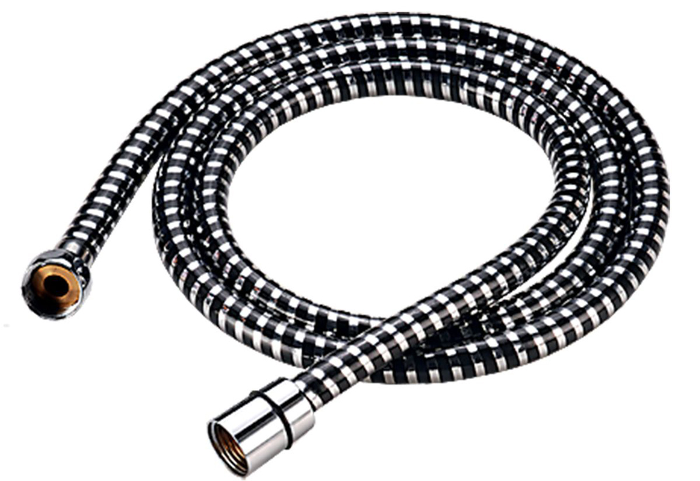 Душевой шланг Milardo, длина 2,0 м. 230P200M19BL505Шланг для душа Milardo® изготовлен из ПВХ, армированного алюминиевой лентой и усиленного продольными нитями из полимерного материала, что придает ему исключительную прочность. Шланг также оборудован системой Twist Free, предотвращающей его перекручивание.