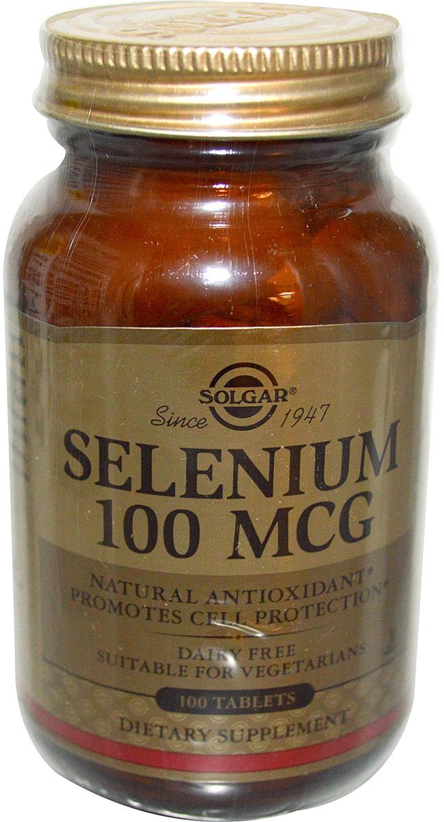 Солгар Селен 6 таблетки 100 мкг №100203939Селен является мощным антиоксидантом, помогает предотвратить преждевременое старение организма, оказывает положительное влияние на репродуктивное здоровье, как у мужчин, так и у женщин, способствует снижению риска возникновений сердечно-сосудистых заболеваний. Селен 100 мкг производится в легко усваиваемой органической хелатной форме. Сфера применения: ВитаминологияСелен