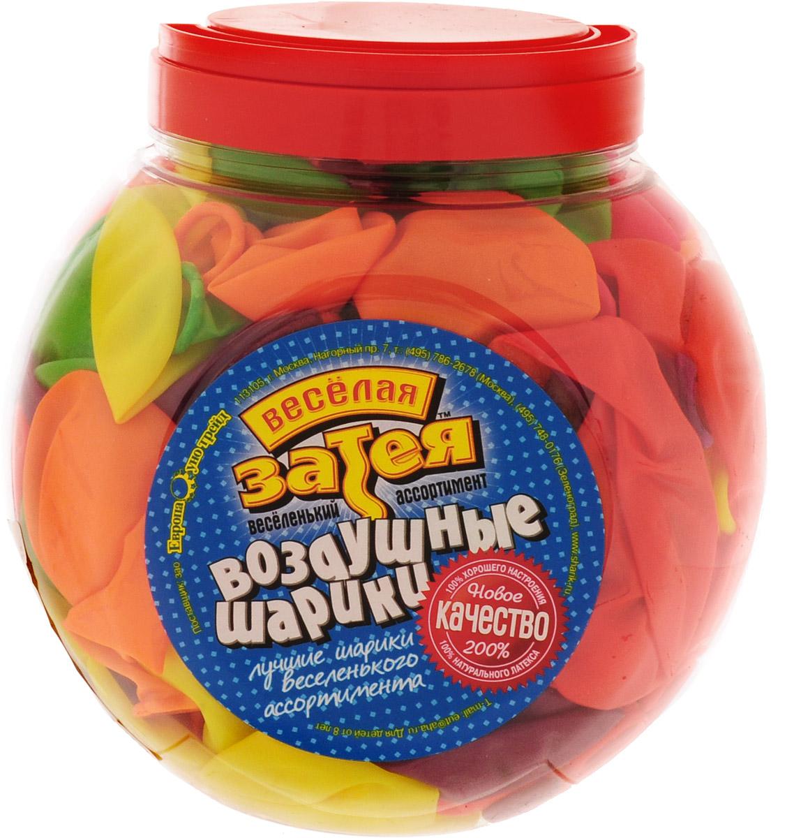 Веселая затея Набор воздушных шариков Неон 200 шт 1110-0000 - Воздушные шарики