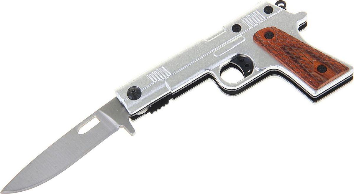 Нож перочинный, с фиксатором, 16,5 х 5 х 1,5 см. 1154195