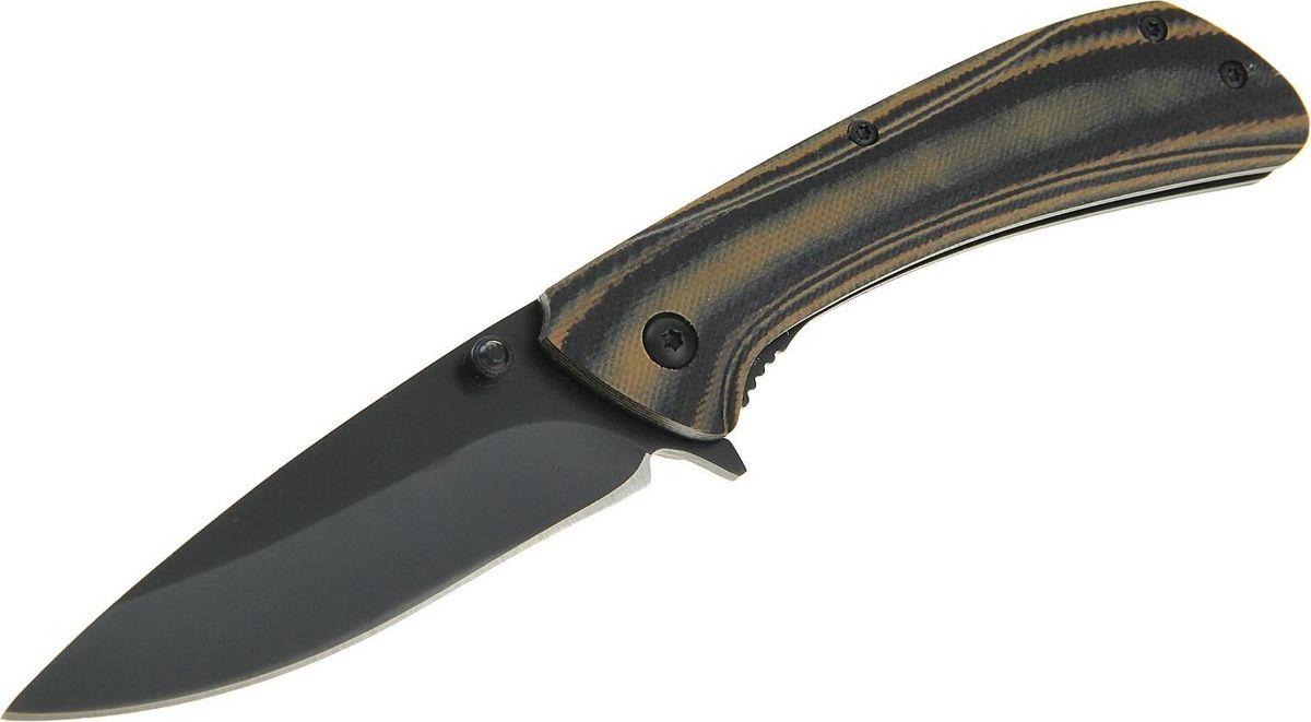 Нож перочинный Mtech, длина клинка 7,5 см. 15689701568970Раньше складные ножи были распространены среди матросов, потому что им был нужен надёжный и простой в использовании инструмент. Сейчас лезвие, которое можно обнажить одной рукой, стало помощником туристов, охотников или рыболовов.Нож перочинный лезвие drop-point 7,5см, рукоять серая литая, волокно G10 18,5см сделан из высококачественной стали, его механические части просты и не требуют обслуживания. Вы сможете привести нож из сложенного положения в рабочее за долю секунды. Острый клинок станет незаменимым инструментом в быту и на отдыхе.Как ухаживать за ножом:Удалите консервационную смазку, если она есть. Подойдут WD-40, растворители масла и грязи для велоцепей.Вытрите насухо и смажьте клинок. Заливать нож маслом необязательно, достаточно протереть его тряпкой с небольшим количеством растительного масла.Появившиеся веснушки ржавчины можно просто заполировать. Вам понадобится средство с абразивом для царапин, сукно и паста для тонкой полировки.Шарнир можно мыть водой или тем же WD-40. Главное — хорошо просушить подвижную часть феном и легко его смазать.Помните: хорошо вымытый после использования нож служит годами, не имеет резкого запаха и не ломается.