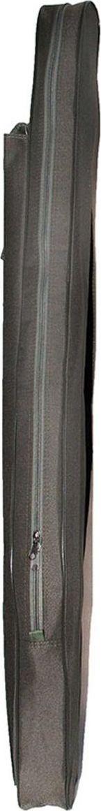 Чехол для спиннинга Fisherman, длина 125 см. Ф19MW-1462-01-SR серебристыйМягкий чехол для спиннинга предназначен для хранения и переноски нескольких удилищ одновременно. Внутренний карман подходит для фидерных вершинок, а внешний — для подсачка. Плечевой ремень с регулировкой по длине облегчит переноску загруженного чехла.