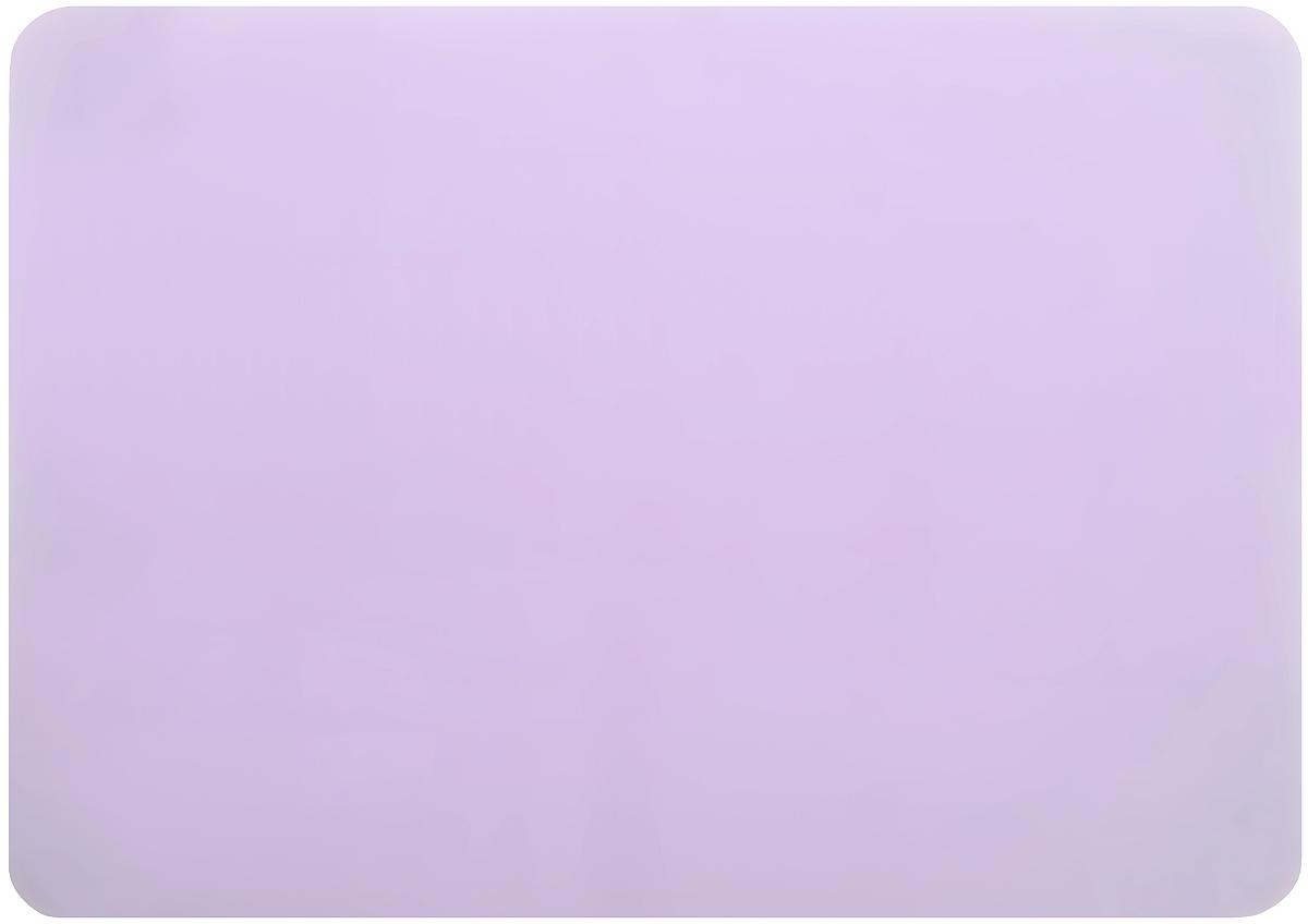 Коврик для теста Marmiton, цвет: сиреневый, 38 х 28 см68/5/4Коврик Marmiton выполнен из пищевого силикона. Материал устойчив к фруктовым кислотам, к воздействию низких и высоких температур, не взаимодействует с продуктами и не впитывает запахи как при нагревании, так и при заморозке. Изделие обладает естественными антипригарными свойствами, идеально подходит для раскатки теста. Коврик можно использовать в духовках и микроволновых печах при температуре от -40°С до +230°С.
