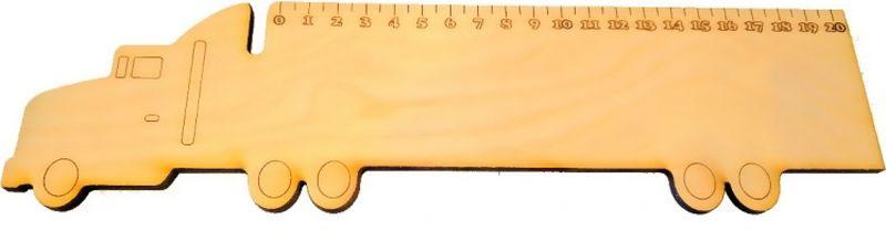 Кидстейшн Линейка Машинка51260F20BKЗабавная фигурная линейка выполнена из дерева. Размер изделия — 30 см, Линейка деревянная Машинка выполнена из качественного материала, имеет интересный дизайн, ее можно использовать использовать и для учебы, и для игры.