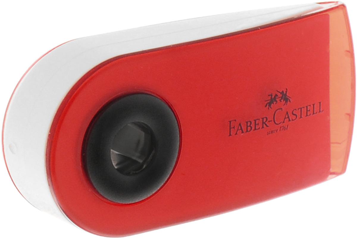 Faber-Castell Ластик Sleeve Mini цвет красный0703415Ластик Faber-Castell Sleeve Mini имеет эргономичную форму. Пластиковый подвижный колпачок защищает ластик от загрязнения.Ластик не содержит ПВХ.