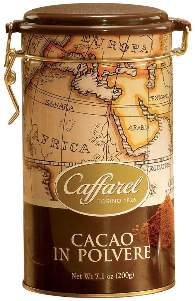 Caffarel Какао-порошок растворимый 20-22%, 200 г0120710Высококачественный какао-порошок Каффарель 20-22% отличается красивым темно-коричневым цветом, нежным ароматом. Великолепен для приготовления какао, кофейных напитков, горячего шоколада, кондитерских изделий и десертов. Компания Caffarel, расположенная в Турине, пользуется бесспорной репутацией лидера на итальянском шоколадном рынке. История компании началась с того, что в конце 18 века сеньор Доре Бозелл изобрел машину по измельчению и смешиванию какао-бобов. В 1826 году Пьер Поль Каффарель приобрел это изобретение для своей шоколадной мастерской на улице Балбис в Сан-Донато, в Турине. Вскоре компания Caffarel выпускает свою визитную карточку - конфеты Джандуйа. Около 30 процентов этой конфеты состояло из перемолотых лесных орехов. Свое название конфеты получили по имени карнавального персонажа-марионетки Джандуйа (GIANDUJA), олицетворяющего образ коренного жителя Пьемонта - итальянской области. Форма конфет так же была связанна с куклой, в основу конфет была положена треугольная шляпа персонажа.В 1865 году во время карнавала Каффарель угощал всех желающих своим новым изобретением от лица куклы Джандуйа. Конфеты пришлись по вкусу всем участникам карнавала, а начинка из перемолотых орехов вскоре получила имя - пралине.